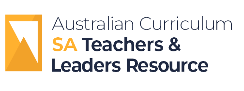 Australian Curriculum SA Teachers & Leaders Resource